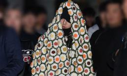 Thời trang kỳ dị kiểu G-Dragon: Trùm chăn hoa đi dự sự kiện khiến ai cũng tá hỏa