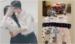 Em trai thiếu gia Phan Thành tặng bạn gái cả 'núi quà' ngay sau khi làm lành