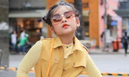 Style đường phố chất lừ và dễ thương  của mẫu nhí Lâm Nguyễn Minh Vy