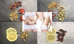Bỏ túi công thức pha nước siêu giảm béo: Giúp giải độc, giảm cân, điều hòa kinh nguyệt