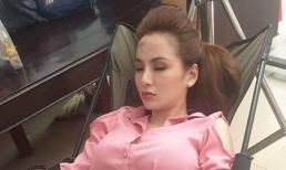 Là Hoa hậu nổi tiếng, Diễm Hương bị chụp lén lúc ngủ ra sao?