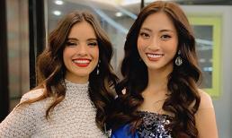 Lọt top 40 phần thi Top Model, Lương Thuỳ Linh đọ sắc cùng đương kim Miss World