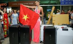 Á hậu Hoàng Thùy bị phạt hơn 46 triệu đồng vì đem 12 kiện hành lý đi Mỹ