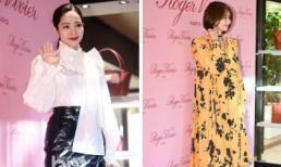"""Park Min Young diện style """"sến""""; Shin Min Ah mặc đồ rộng thùng thình như bà bầu"""