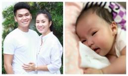 Lê Phương khoe con gái tròn 3 tháng tuổi xinh như thiên thần