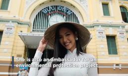 Hoàng Thuỳ nổi bật trên Instagram hơn 3 triệu follow của Miss Universe