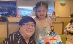 Bên con gái mừng sinh nhật tròn 5 tuổi, Gia Bảo vẫn cảm thấy có lỗi vì không thể cho bé một gia đình trọn vẹn