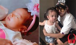 Bà xã Hoài Lâm tung loạt ảnh của con gái đầu sau thời gian giấu kín