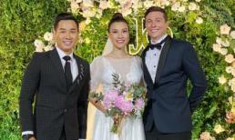MC Nguyên Khang nhắn nhủ Hoàng Oanh và chồng Tây sau đám cưới