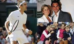 Roger Federer - tay vợt vĩ đại 'không thể ngủ nếu thiếu vợ' và bí mật về 4 đứa con không phải ai cũng biết