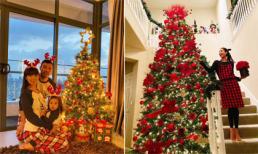 Sao Việt rộn ràng trang hoàng nhà cửa đón Giáng sinh 2019