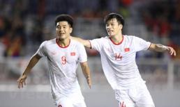 Bàn thắng của Đức Chinh giúp U22 Việt Nam nhọc nhằn vượt ải U22 Singapore