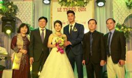 Thủ môn Nguyễn Văn Hoàng cưới vợ ở Nghệ An