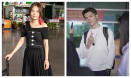 Fiona Fung, Young Jae cùng dàn nghệ sĩ châu Á đổ bộ sân bay Tân Sơn Nhất, chuẩn bị tham dự lễ trao giải METUB WebTVAsia Awards