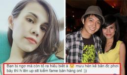 Em gái Thanh Thảo đáp trả khi bị cho là dùng 'mưu hèn kế bẩn', nhắc lại chuyện cũ với Ngô Kiến Huy để PR bán hàng online