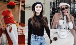 Mũ beret - phong cách thời thượng của những cô nàng quý tộc