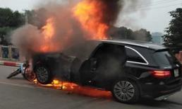 Xe sang Mercedes gây tai nạn rồi bốc cháy: Khởi tố hình sự vụ án