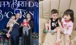 2 nhóc tỳ nhà anh trai Bảo Thy: Thừa hưởng hết nét đẹp từ bố mẹ, tận hưởng cuộc sống sang chảnh từ bé