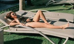 Văn Mai Hương trốn cái lạnh miền Bắc, diện bikini nóng bỏng trong chuyến du lịch biển