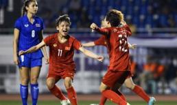 Xem lại bàn thắng quý như vàng của Phạm Hải Yến xé lưới tuyển nữ Thái Lan