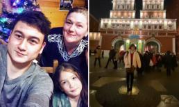 Yến Xuân lặn lội sang tận Nga để thăm gia đình người yêu Lâm Tây?