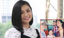San 'Hoa hồng trên ngực trái' - Diệu Hương cùng gia đình sang Mỹ định cư
