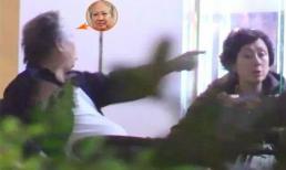 Hồng Kim Bảo nổi nóng, chỉ tay quát mắng vợ giữa nhà hàng