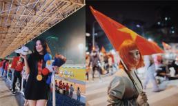Bạn gái Văn Hậu khoe ảnh chụp cùng huy chương vàng, loạt hot girl đi bão ăn mừng