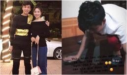Về ra mắt nhà chồng sắp cưới, Võ Nhật Linh trổ tài lau nhà khiến Phan Văn Đức 'nhìn mà thương'