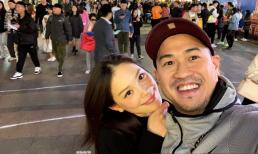 Linh Rin vẫn thể hiện tình cảm với Phillip Nguyễn theo cách này dù dính nhau như hình với bóng