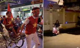 Mừng Việt Nam chiến thắng: Vũ Hà - Đàm Vĩnh Hưng 'đi bão' bằng xích lô, Mỹ Tâm lái xe điện vòng vòng khắp xóm