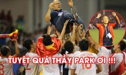 Khoảnh khắc thầy Park trở nên vĩ đại trong ngày U22 Việt Nam giành HCV SEA Games 30