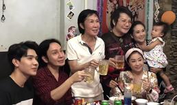 'Ông hoàng cải lương Hồ Quảng' Vũ Linh mừng tuổi 61 bên người thân với sắc diện tươi tắn sau cơn bạo bệnh