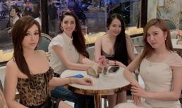 Bà xã Tuấn Hưng có hội chị em toàn hot girl, hot mom nổi tiếng