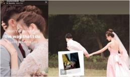 Cuối cùng bạn gái Phan Văn Đức cũng đăng ảnh cưới có đầy đủ cô dâu và chú rể