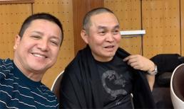 Xuân Hinh cùng dàn nghệ sĩ tập luyện cho chương trình thay thế Táo Quân