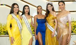 Hoa hậu H'hen Niê, Á hậu Hoàng Thuỳ hội ngộ cùng top 3 Hoa hậu Hoàn vũ Việt Nam 2019