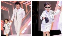 Con trai Đan Trường 'siêu đáng yêu', trình diễn thời trang cùng bố mẹ