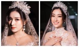 """Đỗ Mỹ Linh – Huyền My """"đọ sắc"""" trong trang phục cưới"""