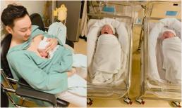 Vợ MC Thành Trung sinh đôi, hai bé trai đều nặng hơn 3kg