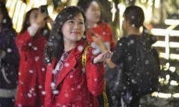 Đừng bỏ lỡ Giáng sinh châu Âu phủ đầy tuyết trắng giữa lòng Hà Nội