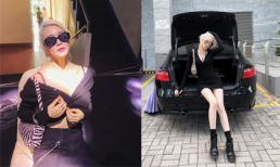 Nhuộm tóc bạc như bà ngoại, Thiều Bảo Trang vẫn cực xinh đẹp và sành điệu