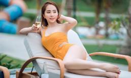 Hậu nâng ngực, 'Cá sấu chúa' Quỳnh Nga diện bikini khoe ba vòng miễn chê