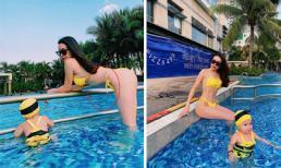 Dáng đã đẹp nhưng Trà Ngọc Hằng vẫn muốn nhập hội 'photoshop bẻ cong vạn vật'