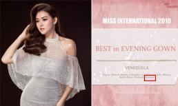 Á hậu Tường San nhận tin vui sau 1 tháng khép lại cuộc thi Hoa hậu Quốc tế 2019
