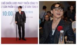 Diện vest cầm gậy baton sang chảnh, 'chủ tịch' Sơn Tùng tuyên bố làm hẳn mạng xã hội và quán cafe riêng cho fan