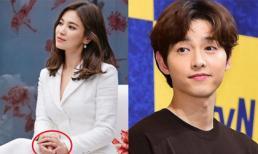 Ly hôn nửa năm, Song Hye Kyo bất ngờ đeo lại nhẫn cưới khiến nhiều người tin rằng cặp đôi Song – Song tái hợp