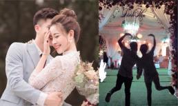 Phan Văn Đức cùng vợ sắp cưới thể hiện tình cảm ngọt ngào sau lễ đính hôn