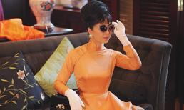 NSƯT Chiều Xuân tái hiện hình ảnh phụ nữ thập niên 60 với áo dài cổ thuyền