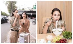 Hoa hậu Thế giới Megan Young ăn phở, uống trà đá miễn phí khi vừa đến Việt Nam